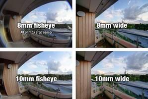 Fisheye vs. wide angle lenses for shooting spherical panoramas