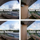 Fisheye vs. wide angle lenses for shooting spherical panoramas