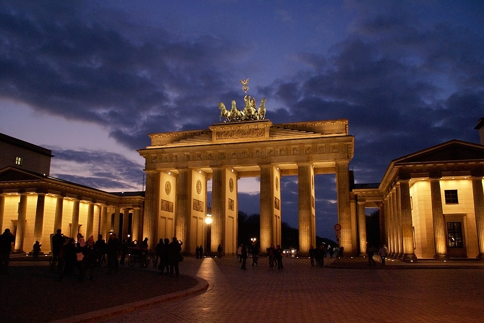 Brandenburg Gate, Berlin, 2007