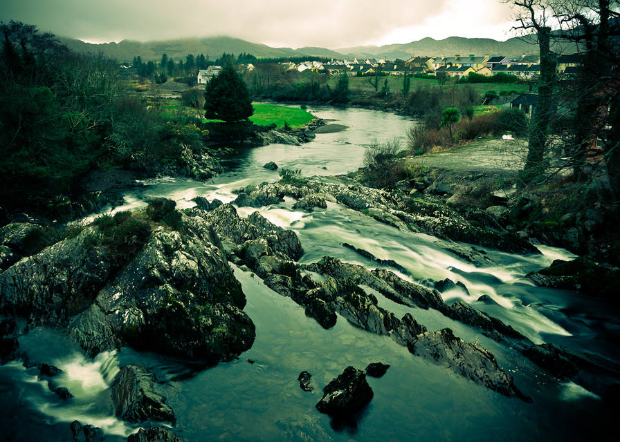 The river Sneem, Ireland, 2008