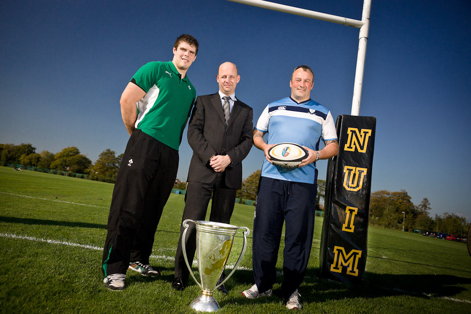 The Heineken Cup visits NUI Maynooth, Ireland, 2011