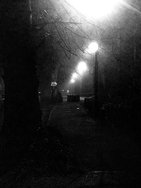 Fog late at night, Maynooth, Ireland, 2010