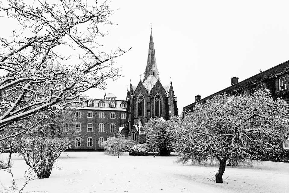 St. Patricks College on a winter day, Maynooth, Ireland, 2009